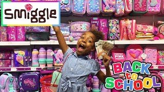 Smiggle Back To School Supplies Shopping Haul £100 Challenge
