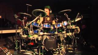 #04 Marco Conesta from Italy; V-Drums World Championship 2012