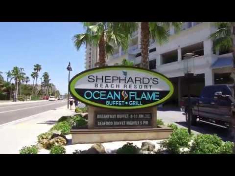 (4k) Shephard's Beach Resort. Clearwoter Beach. Fl. USA