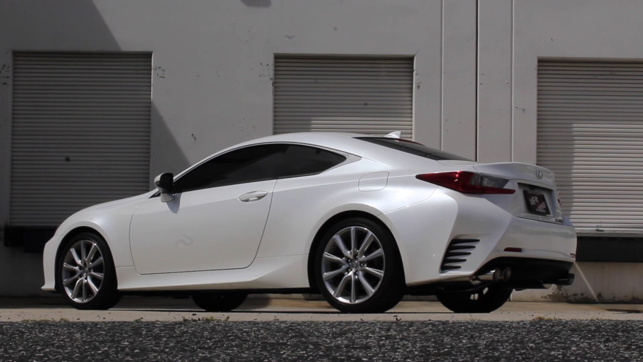 Afe Power Takeda 2016 2017 Lexus Rc 200t Axle Back Exhaust System