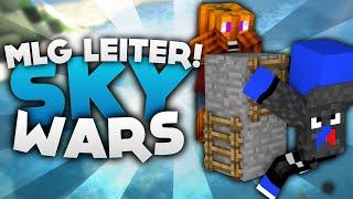 MLG Leiter Action! - Minecraft Sky Wars! | DieBuddiesZocken