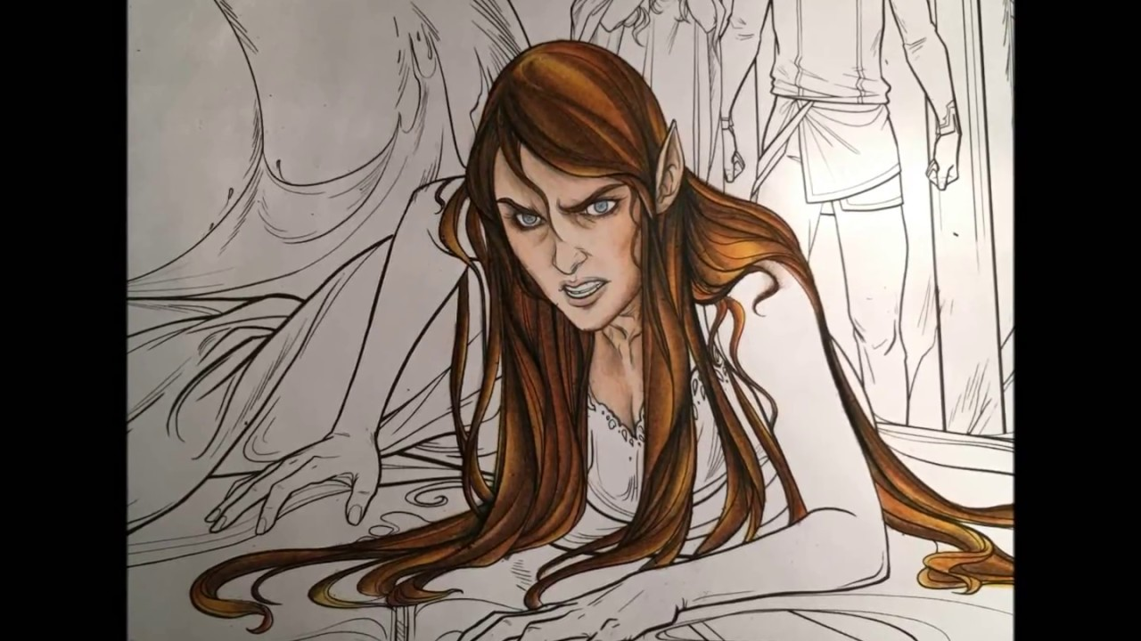 A Court Of Thorns And Roses Part One Face And Hair Colouring