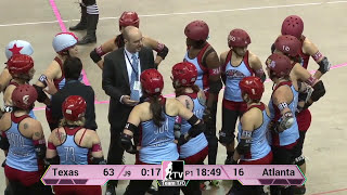 Texas Rollergirls v Atlanta Rollergirls: WFTDA Championships 2013 in Milwaukee