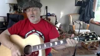 1911 -  Patches  - Dicky Lee vocal & acoustic guitar cover & chords