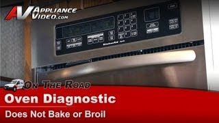 Kitchenaid & Whirlpool Wall Oven Diagnostic - Does Not Bake or Broil