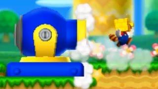 New Super Mario Bros 2 - All Warp Cannons