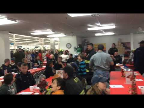 Mich. firefighters, cops sing '12 Days of Christmas'