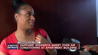 Air condition issues raising concerns at Southfield apartment complex