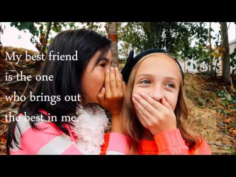 Best Friend Quotes For Girls Youtube