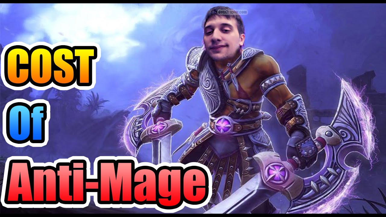 arteezy dota 2 cost of picking anti mage youtube