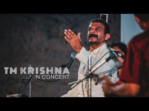 T M Krishna in Concert