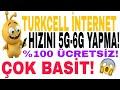 TURKCELL(YENİ)İNTERNET HIZINI 6G'YE ÇIKARMA AYARI!!! 2018 GÜNCEL