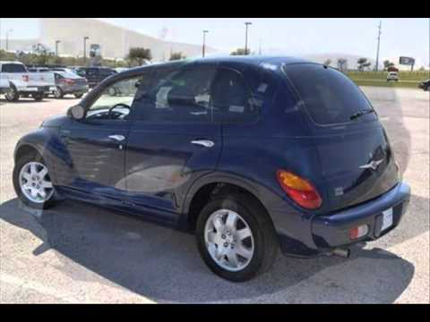 2005 Chrysler Pt Cruiser Electric Blue Pearl Lewisville Tx