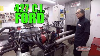427 Ford on the Dyno - Nick Tests the Blue Oval
