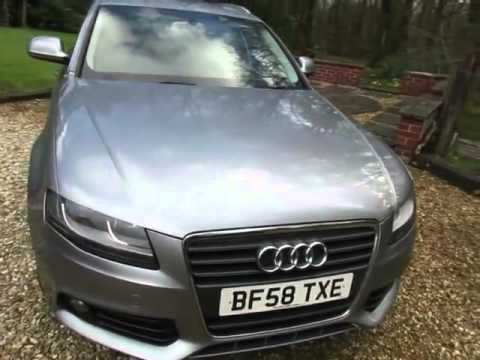 2008 Audi A4 Avant 2.0 TDI SE Estate in Metallic Grey, 60,251 Miles, £8495.00