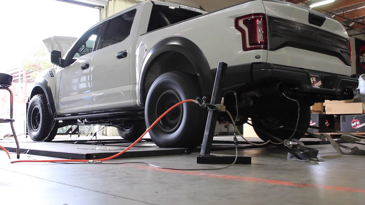 2017 Ford Raptor Ecoboost Afe Scorcher Tune On The Dyno