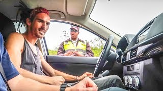 POLICE CAUGHT ME SPEEDING!