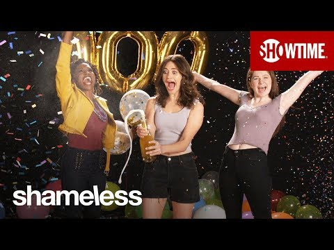 Celebrating 100 Episodes w Emmy Rossum, William H Macey & Cast!  Shameless