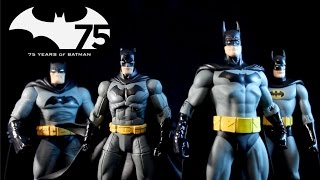 REVIEW: Batman 75th Anniversary Set 2 Action Figure 4-Pack by DC Collectibles