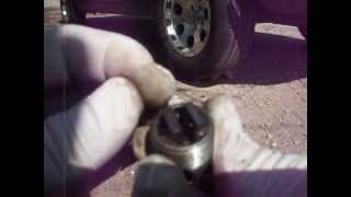 How to Change  Transmission Fluid on a 1970 Mustang 3 Speed Manual Transmission 101
