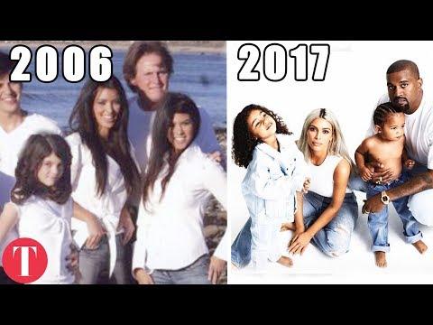 The Evolution Of The Kardashian Christmas Card