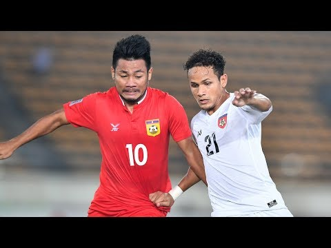 Laos 1-3 Myanmar (AFF Suzuki Cup 2018 : Group Stage)