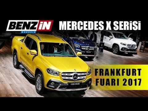 Mercedes-Benz X Serisi - Frankfurt Fuarı 2017
