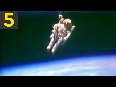 Top 5 Amazing Spacewalks