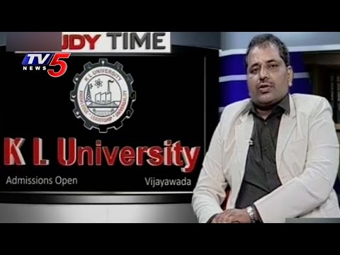 Job Opportunities In Biotechnology & Pharmacy | KLU | Srinivas | Study Time | TV5 News