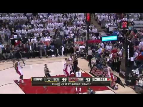 Brooklyn Nets vs Toronto Raptors Game 1 | April 19, 2014 | NBA Playoffs 2014
