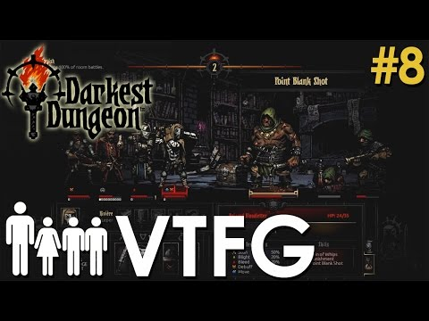 [Falling Like Dominos] Darkest Dungeon Strategy Let's Play FULL RELEASE Ep 8