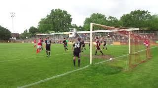 VfR Mannheim - 1. FC Bruchsal / Das 3:1 durch Enis Baltaci