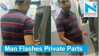 Shocking!! Mumbai man flashes inside ATM, woman posts video online
