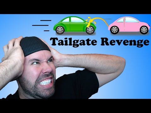 How To Handle A Tailgating Vehicle |  The Tailgate Revenge Kit!