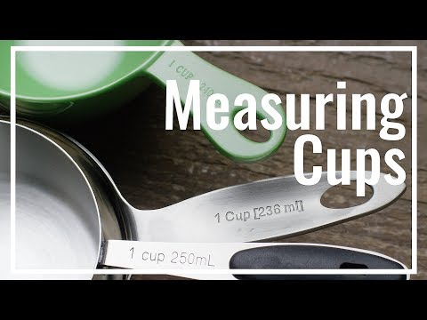 All About Measuring Cups Youtube
