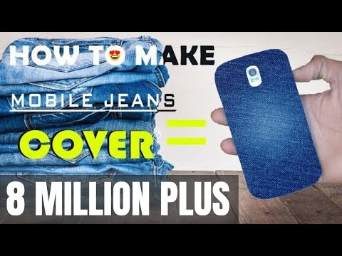 How To Make Mobile Cover | DIY | At Home (2019)