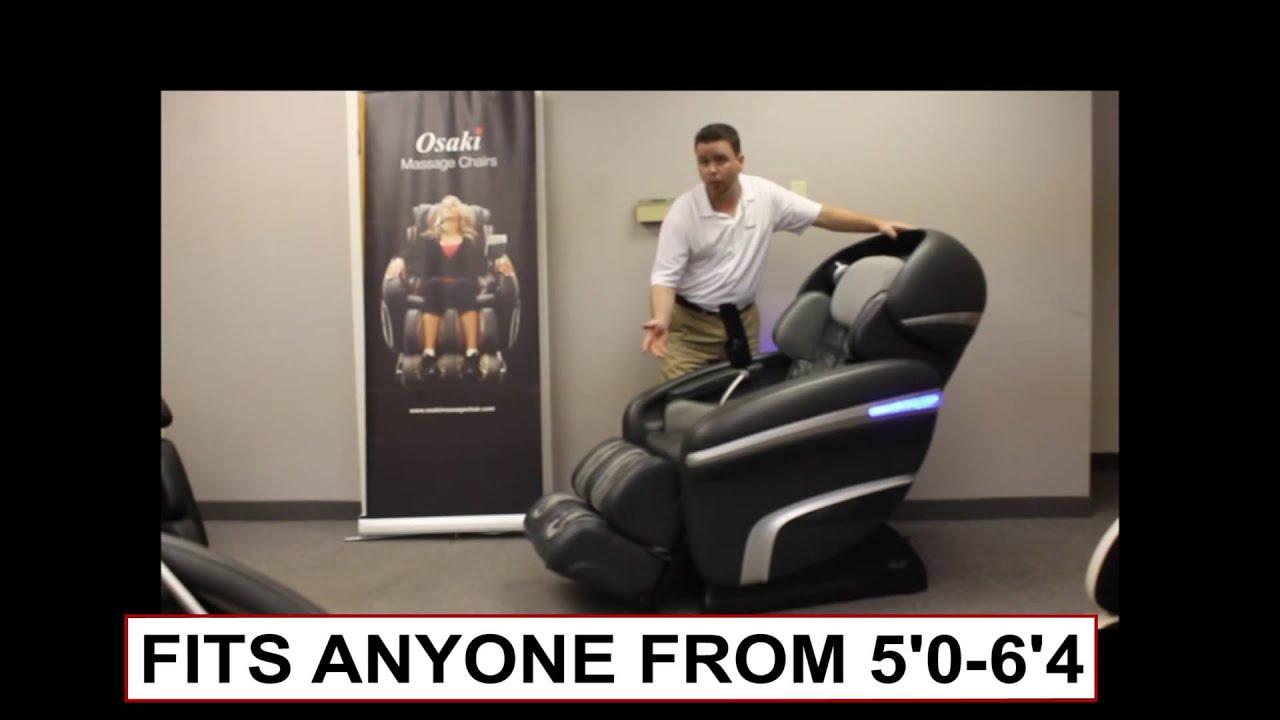 Osaki OS 7200CR Massage Chair Functions