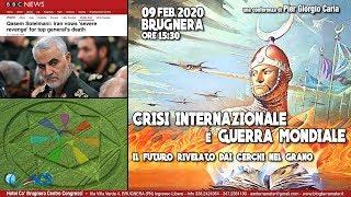 Pier Giorgio Caria - CRISI INTERNAZIONALE E GUERRA MONDIALE: i cerchi nel grano - BRUGNERA