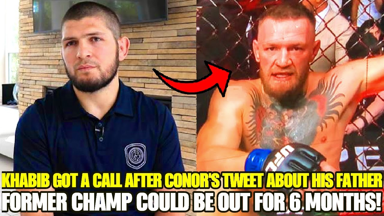 Former UFC Champ could be FORCED to sit out for SIX months, Khabib got a call after McGregor's tweet