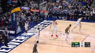 1st Quarter, One Box Video: Denver Nuggets vs. Milwaukee Bucks