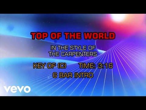 Carpenters - Top Of The World (Karaoke)