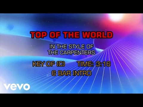 Carpenters - Top Of The World (Karaoke)