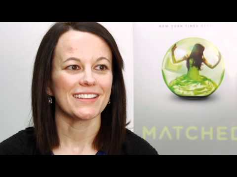 Ally Condie talks about Matched and the sequel Crossed (video)