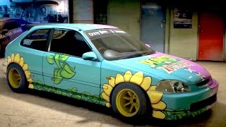 В Need For Speed можно заказать автомобиль с рисунком Plants vs. Zombies