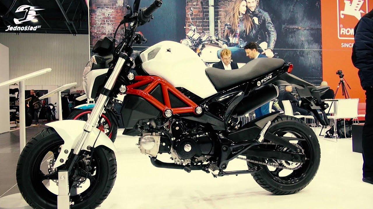 motorynka powraca romet pony monster 50 na moto expo 2016. Black Bedroom Furniture Sets. Home Design Ideas