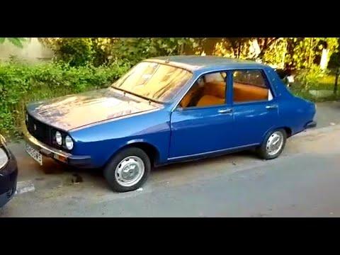 Blue Restored Dacia 1310 (two Dacia Models)