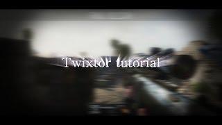 """Sony Vegas 10,11,12,13,14 [Tutorial] """"Twixtor"""""""