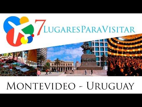 7 lugares para visitar en Montevideo - Uruguay