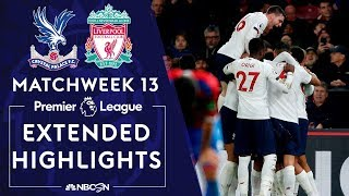 Crystal Palace v. Liverpool | PREMIER LEAGUE HIGHLIGHTS | 11/23/19 | NBC Sports