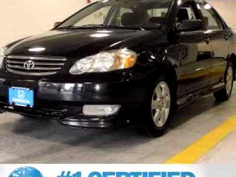 Sold 2004 toyota corolla s 11377 paragon honda youtube for Paragon honda northern blvd